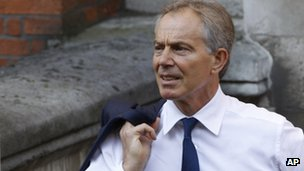 Former Prime Minister Tony Blair