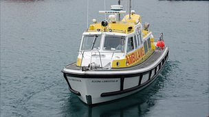 Guernsey marine ambulance - Flying Christine III
