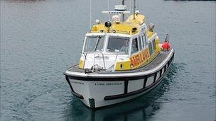 Guernsey marine ambulance - Flying Christine III