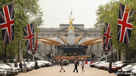 Diamond Jubilee Concert preparations