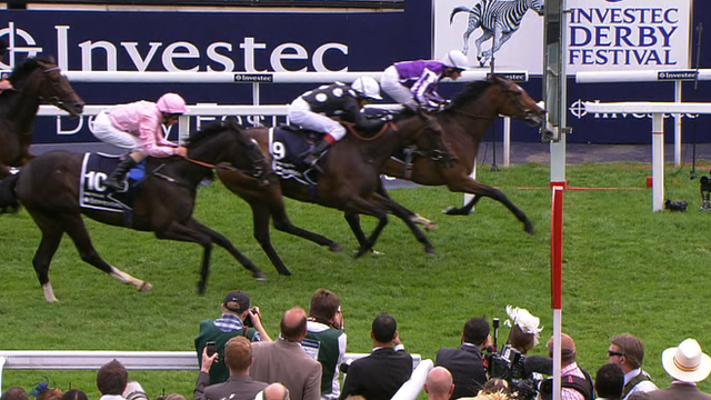 Was wins the Oaks at Epsom Derby