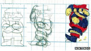 Early Mario designs
