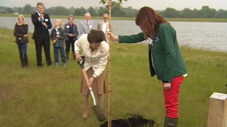 Princess Royal at National Forest in Leicestershire