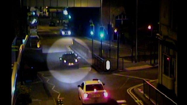 CCTV Footage of Danai Muhammadi