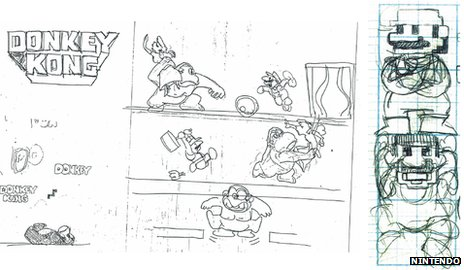 Donkey Kong designs