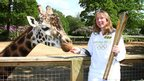 Jane Campbell at Knowsley Safari Park, Prescot