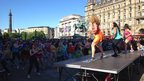 Zumba dancing in Liverpool