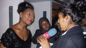 School Reporters interview Baroness Floella Benjamin