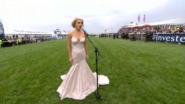 Welsh singer Katherine Jenkins
