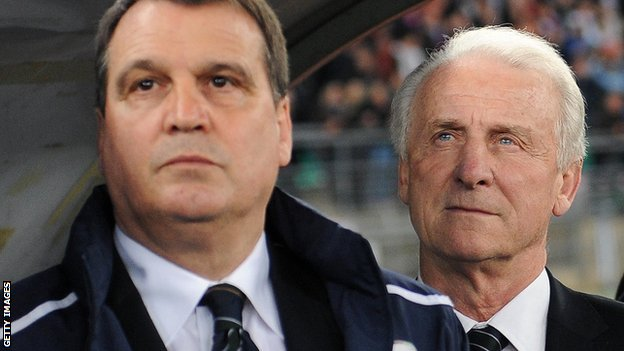 Marco Tardelli and Trapattoni
