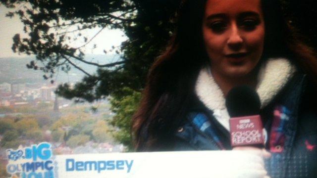 School Reporter Dempsey