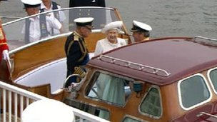 Queen and the Duke of Edinburgh