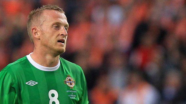 Northern Ireland captain Sammy Clingan