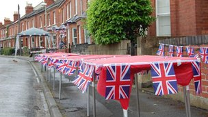 Rosehill Street prepares for its street party