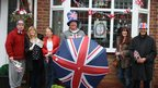 Jubilee party in Sutton-in-Ashfield in Nottinghamshire