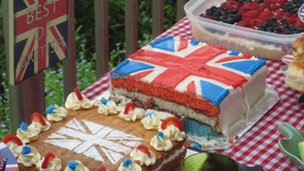 British cakes in Hong Kong