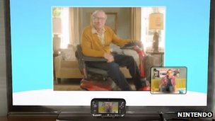 Wii U presentation screenshot