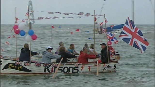 The Diamond Jubilee has been celebrated across Devon and Cornwall