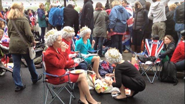 Jubilee revellers