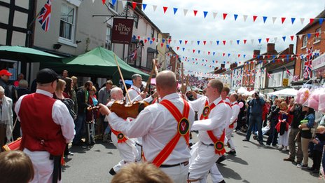 Alcester Diamond Jubilee celebrations