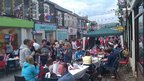 Street party in Griffithstown near Pontypool