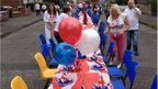 Jubilee party in east Belfast