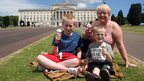 Stormont provided the perfect backdrop for a relaxing day off in honour of the Queen.
