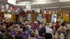 A Big Lunch at St John's Church, Cymmer, Porth in Rhondda Cynon Taf to celebrate the Queen's Diamond Jubilee