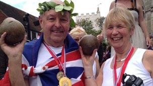 John and Bronwen Bunting