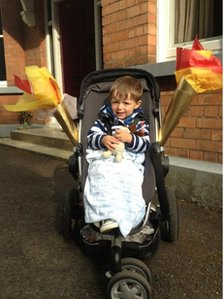 Kevin Glackin asks if this is the youngest torchbearer