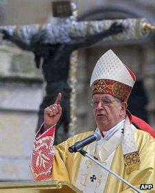 Cardinal Quezada Toruno in 2003
