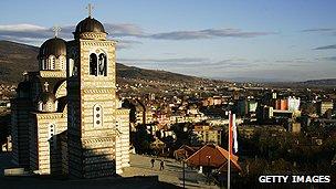 Mitrovica skyline