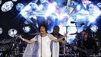 "Shirley Bassey performs ""Diamonds Are Forever"" during the Diamond Jubilee concert"