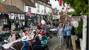 Cookham street party