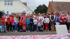 Street party at Flambard Avenue in Christchurch