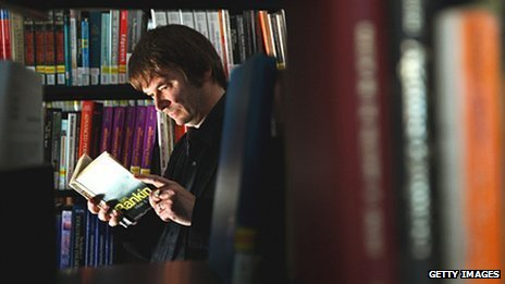 Ian Rankin at the newly refurbished library