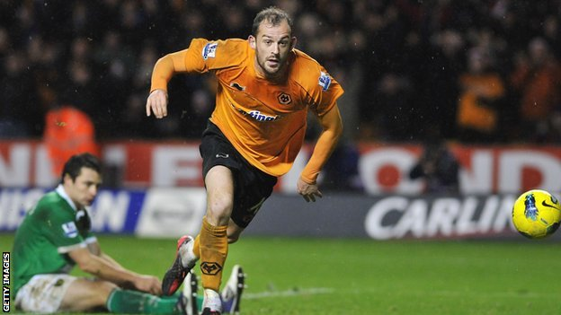 Wolves striker Steven Fletcher