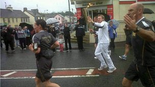Torch in Augher