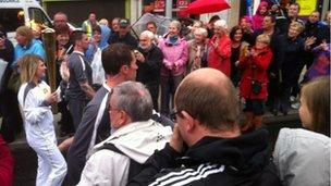 Relay in Portadown