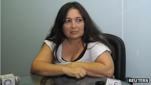 Nurse Narcisa Delacruz in Paraguay, 4 June 2012