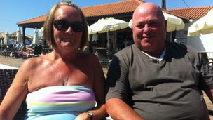 Sandra and Derek Bere from Liverpool