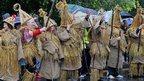 Mumers in Enniskillen