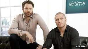Sean Parker and Shawn Fanning