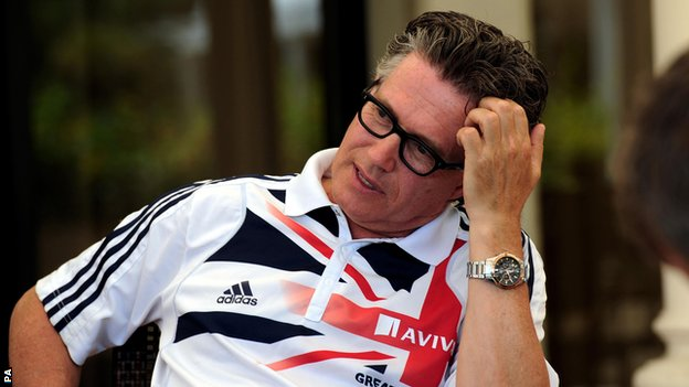 UK Athletics head coach Charles van Commenee