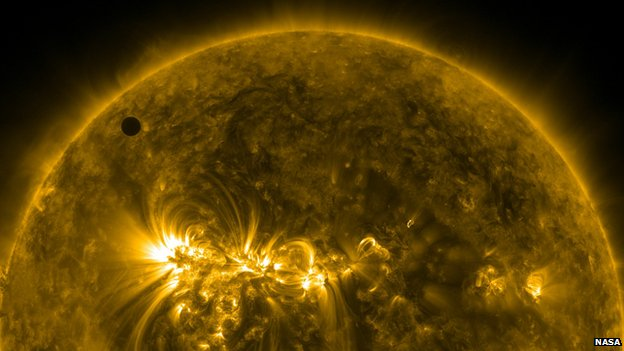 SDO view of Venus