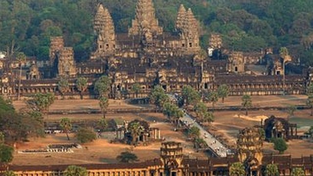 Cambodia's Angkor Wat - file photo