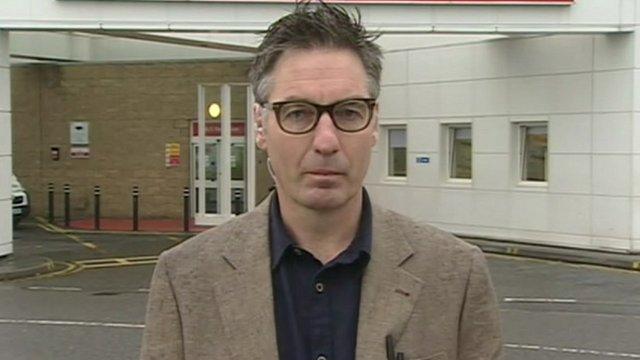 NHS Lothian's Dr Duncan McCormick