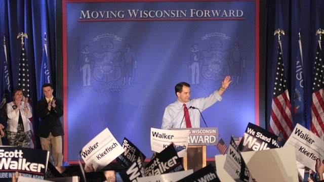Republican Scott Walker