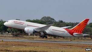 An Air India plane