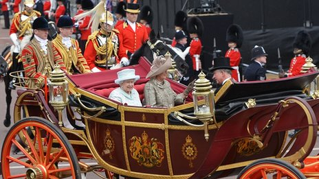 Diamond Jubilee state procession